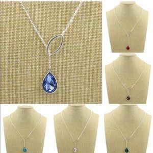 Jewelry - 💎 Trendy Cross Teardrop Necklace NEW